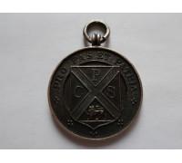 Великобритания (Бирмингем) памятный серебряный жетон (pro fas et patria)