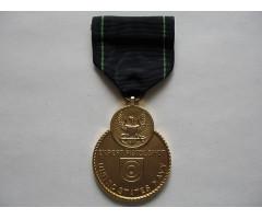 США медаль за меткую стрельбу из пистолета для ВМФ