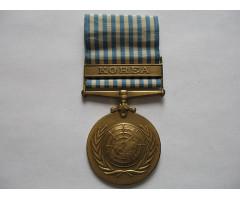 ООН  медаль за службу в Корее 1950-1953 гг Английская версия
