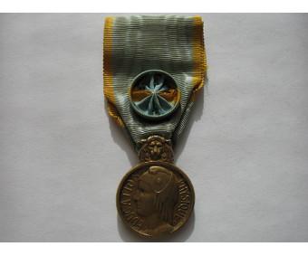Франция Почётная медаль физической культуры 1-й степени