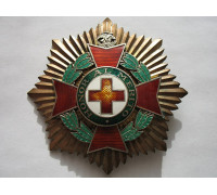 Мексика орден почета Красного Креста.