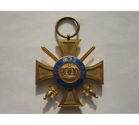 Пруссия Орден Короны 4 класса с мечами