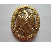 Нагрудный знак Бундесвера за особые заслуги в войсках (золото)