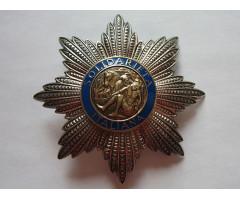 Звезда ордена Звезды итальянской солидарности 1-й степени (2-й тип)