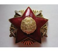 Румыния орден Защиты Отечества 1-й степени 2-й тип (RSR)