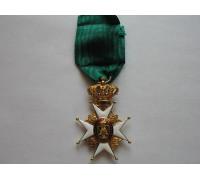 Швеция Орден Вазы Рыцарь (золото)