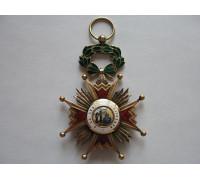 Испания орден Изабеллы Католической 3 тип (1875-1931)