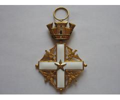 """Орден """"За заслуги перед Итальянской Республикой"""" в степени офицер"""