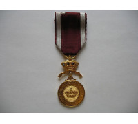Бельгия Золотая медаль Ордена Короны