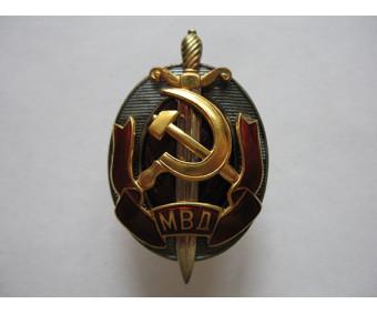 Заслуженный работник МВД